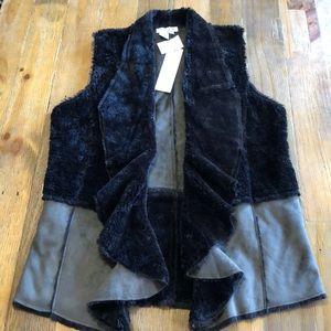 Great Cavalier drape front vest